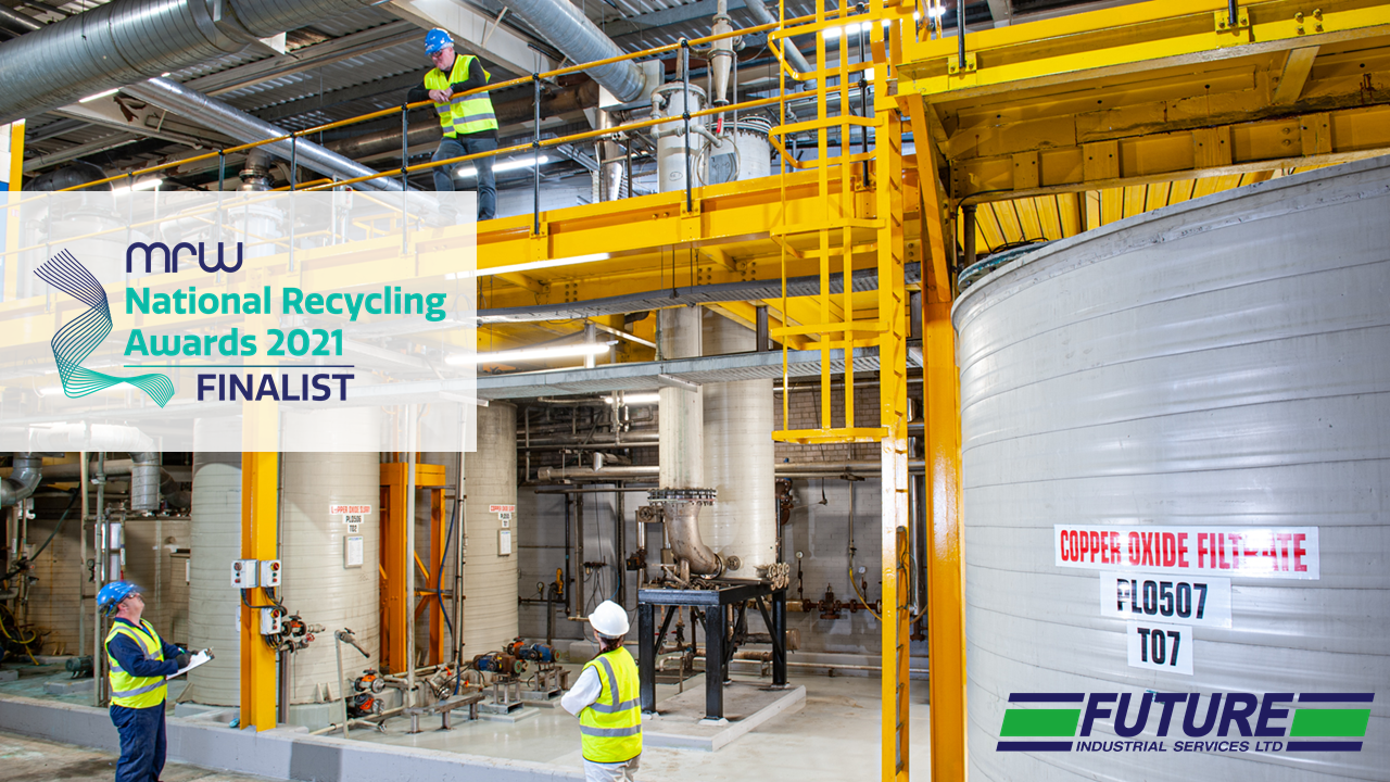 Future are finalists at National Recycling Awards